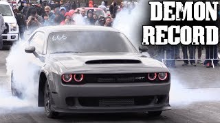 Modded Dodge Demon SHATTERS RECORD, Get Ya Some!