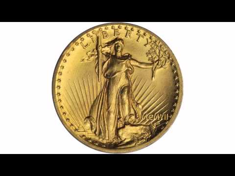 MCMVII (1907) Saint-Gaudens Double Eagle. High Relief. MS-64 (PCGS). CAC. Lot: 7797