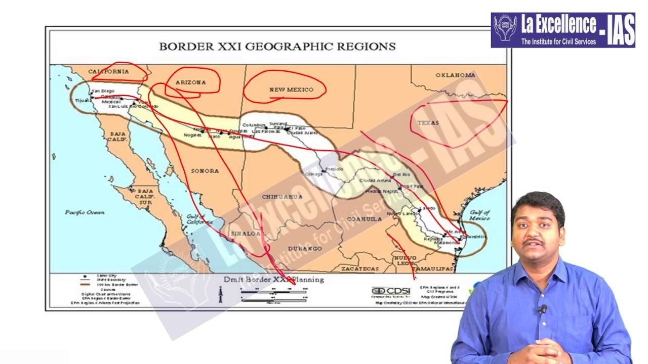 Geography Through Maps Geography through Maps 2017 by Sandeep sir, La Excellence IAS