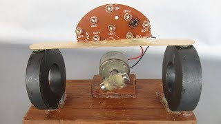 How to make free magnetic energy using DC motor - Power electronic projects for engineering students