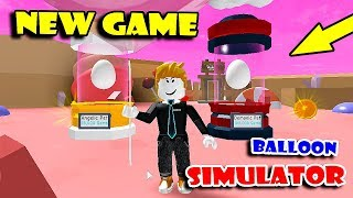 UNLOCKING ALL AREAS In *NEW* GAME BALLOON SIMULATOR!! (Roblox)
