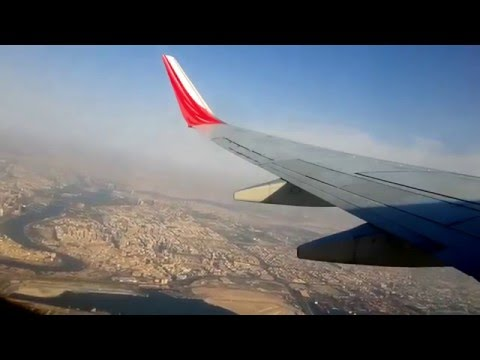 Air-India Express Taking-off From Dubai