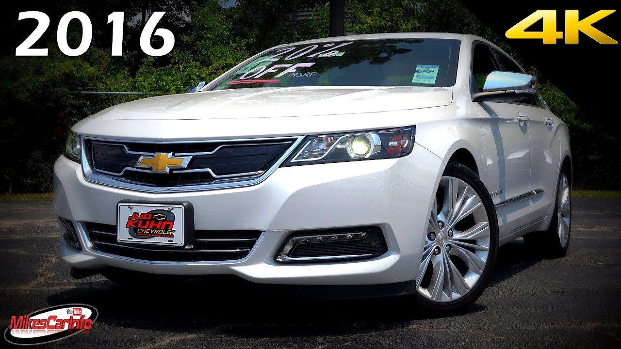 2016 Chevrolet Impala 2ltz Ultimate In Depth Look 4k