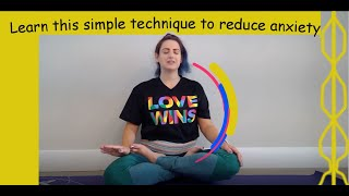 Reduce anxiety with this proven breathing technique