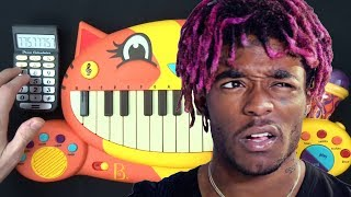 LIL UZI VERT - SANGUINE PARADISE BUT IT'S ON A CAT PIANO AND A DRUM CALCULATOR