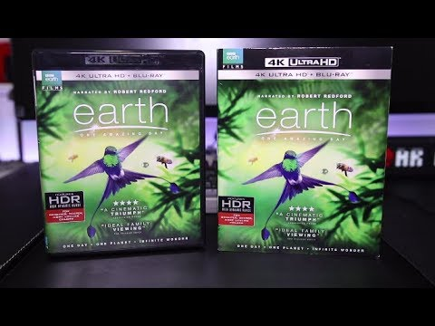 Earth One Amazing Day 4K Blu-Ray Review