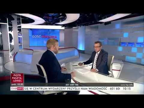 """Adrian Zandberg #RAZEM - """"Gość Poranka"""" TVP INFO (16.06.2017)"""