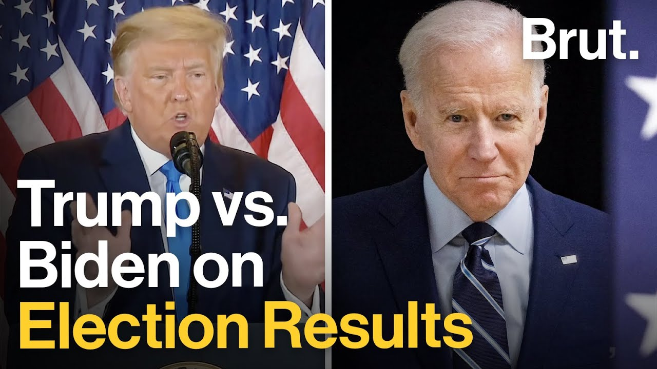 Trump vs. Biden on the Election Results