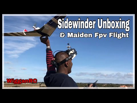 Fpv At 100mph Sidewinder Wing?