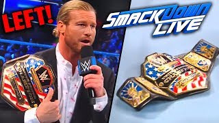 Dolph Ziggler WALKS OUT Of WWE! Leaves U.S Title! - WWE SmackD…
