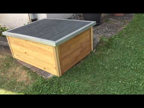Garage Rasenm 228 Her Roboter Lawn Mower Youtube