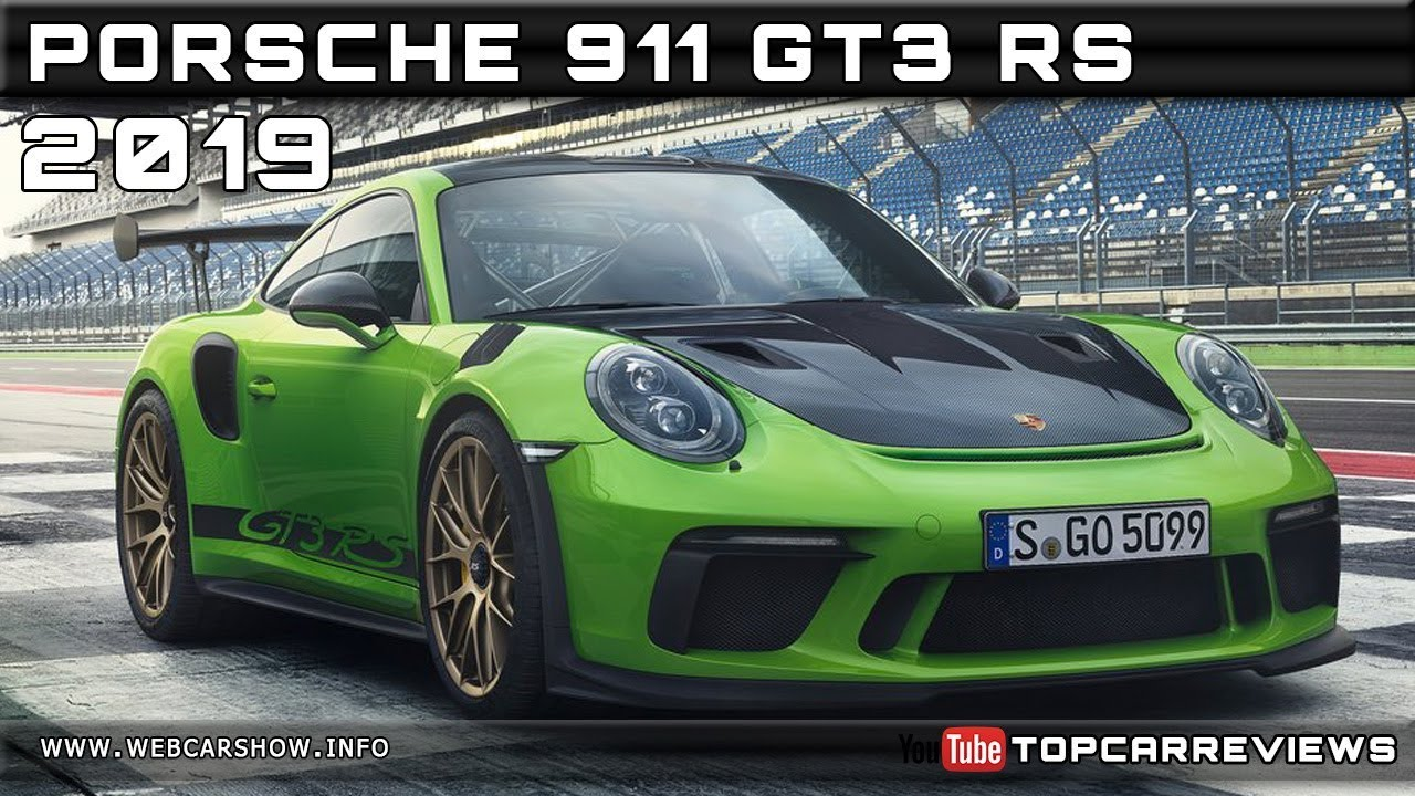 2019 PORSCHE 911 GT3 RS Review Rendered Price Specs ...