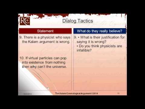 Kalam 5 0:  How To Dialog About The Kalam