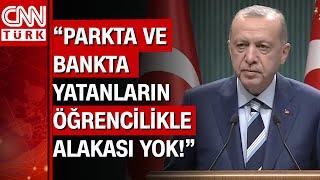 Kabine toplantısı sona erdi! Cumhurbaşkanı Erdoğan'dan yurt eleştirilerine sert cevap! İşte detaylar