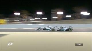 Your Favourite Bahrain Grand Prix - 2014 Hamilton Battles Rosberg