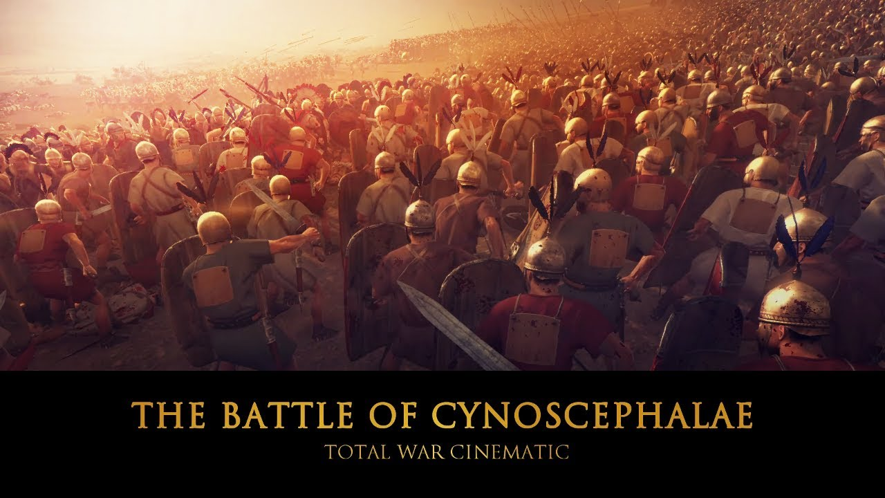 EPIC CINEMATIC: LEGION vs PHALANX - 33.000 ROMANS vs 26.000 MACEDONIANS - THE 2nd MACEDONIAN WAR