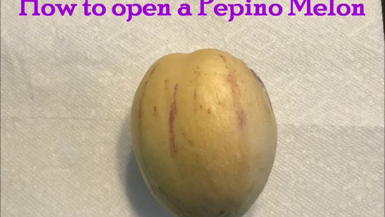 how to eat a pepino