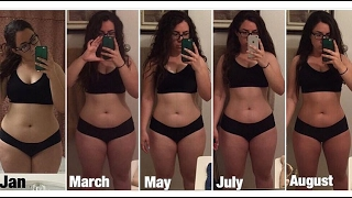 My 8 Month Weight Loss Transformation
