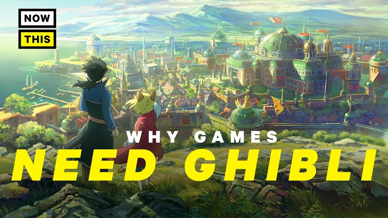 Why Games Need Studio Ghibli | NowThis Nerd
