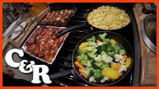 Jerk Chicken, Curried Rice & Veggies Recipe with Paul & Ken