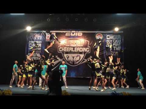 KEJURDA 2016 - CHARTS team cheer fullteam level 4