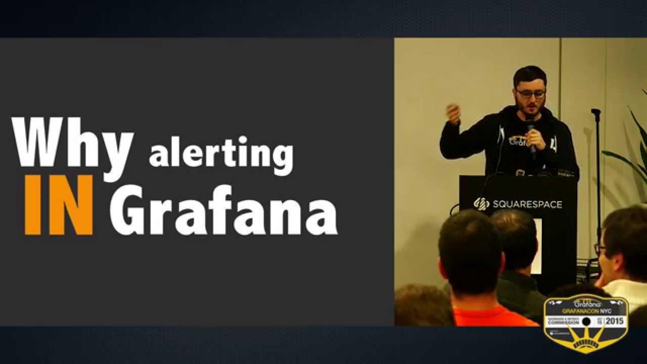 GrafanaCon 2015: Alerting
