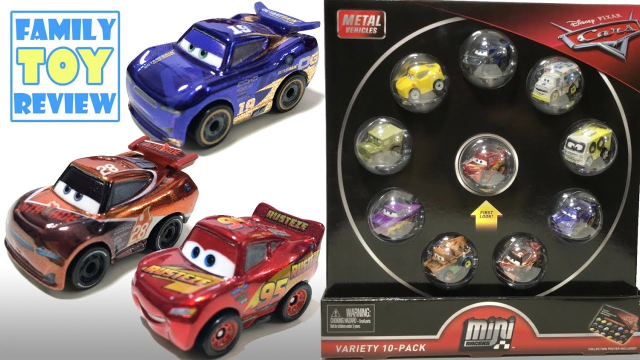 New Disney Cars 3 Toys Cool Metallic Cars 3 Mini Racers Variety