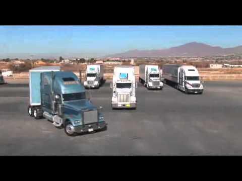 Sea chofer de camion en Estados Unidos.avi