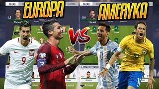 Europa vs Ameryka | FIFA 18 EKSPERYMENT