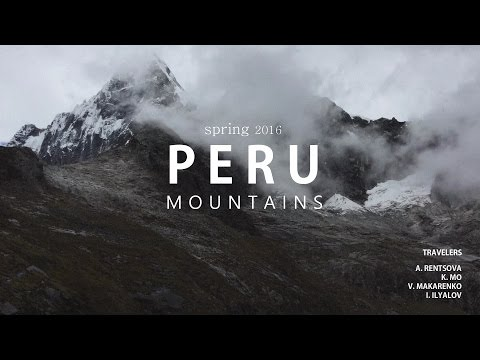 Andean Peru Mountains
