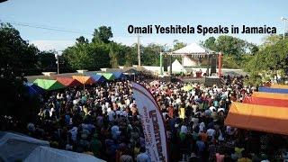Omali Yeshitela Delivers Powerful Speech In Jamaica