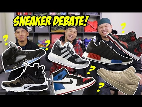 OUR FAVORITE SNEAKERS OF 2016! CAN YOU GUESS?