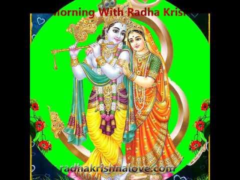 Good morning whatsapp video shree radhe radhe