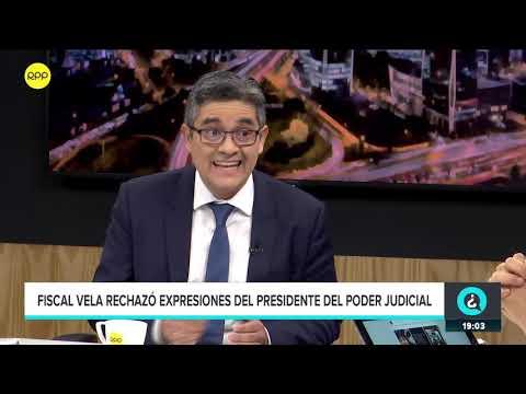 """Fiscal Domingo Pérez: """"Considero que el plazo de la prisión preventiva es adecuado"""""""