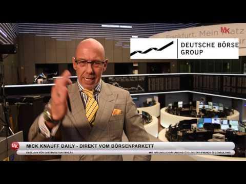Scheitert die Fusion von Deutscher Börse und LSE? Mick Knauff's Daily vom 05.05.2015