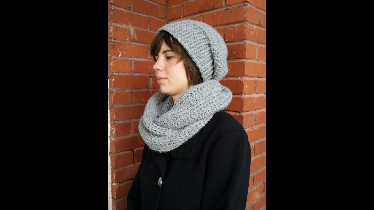 Bonnet tuque crochet - YouTube