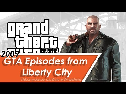 GTA Episodes from Liberty City: The Lost and Damned [1080p60] | One Hour