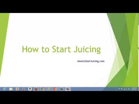 How to Start Juicing | Juice Diet Plans