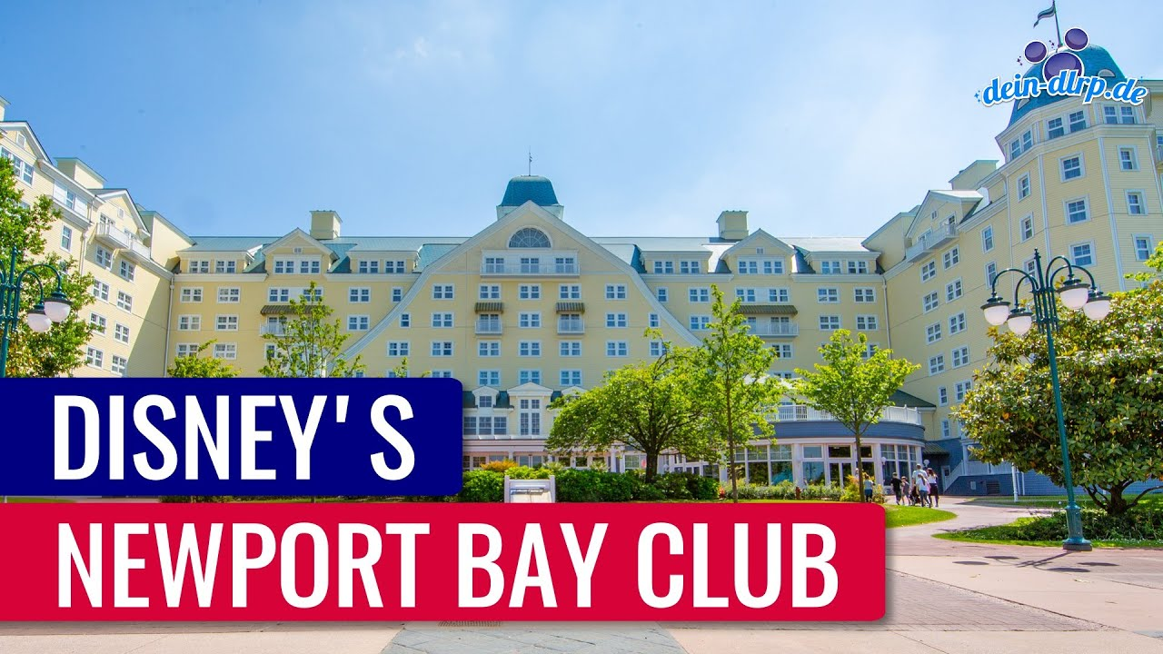 Disney S Newport Bay Club Maritimes Disneyland Paris Hotel
