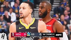 Houston Rockets vs Golden State Warriors - Full Game Highlights | February 23, 2019