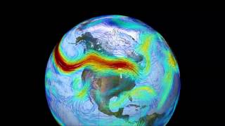 NASA Jet Stream Animation