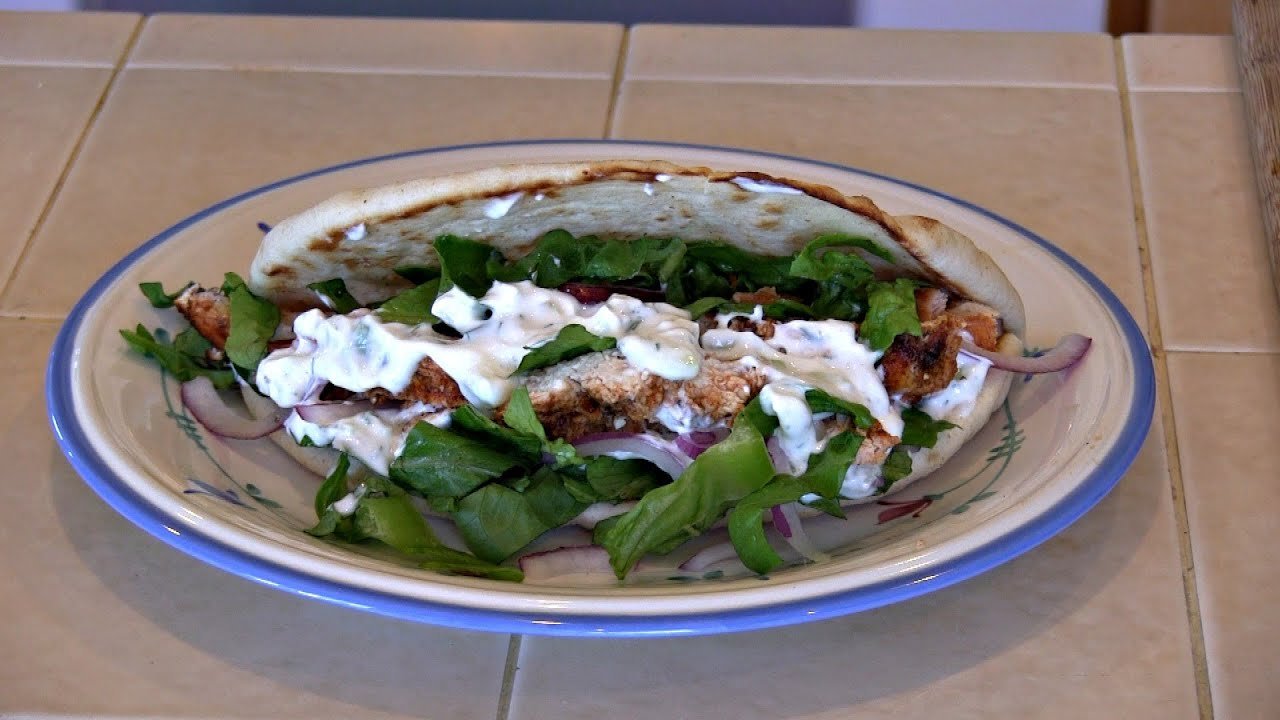 Authentic greek chicken pita recipe