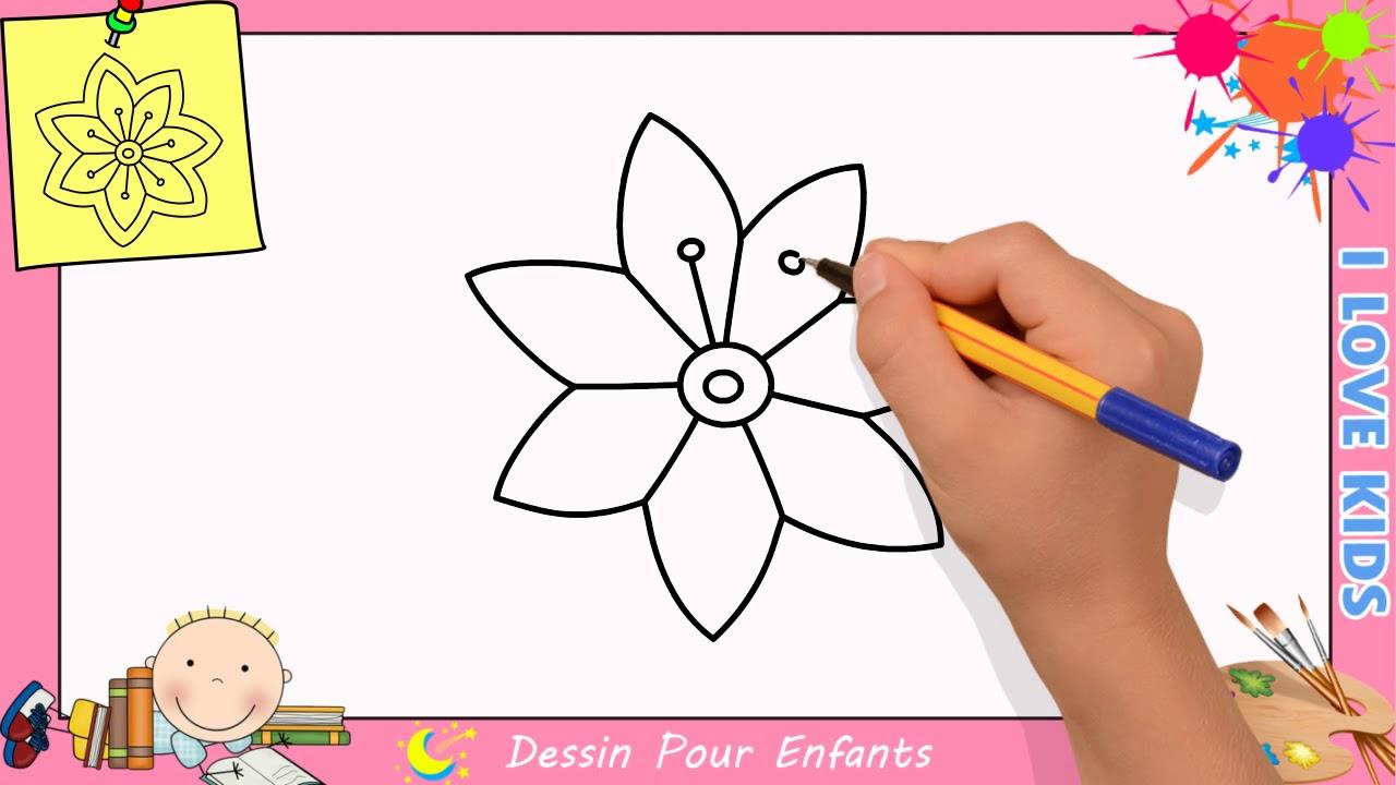 Comment Dessiner Une Fleur Facilement Etape Par Etape Pour Enfants 15
