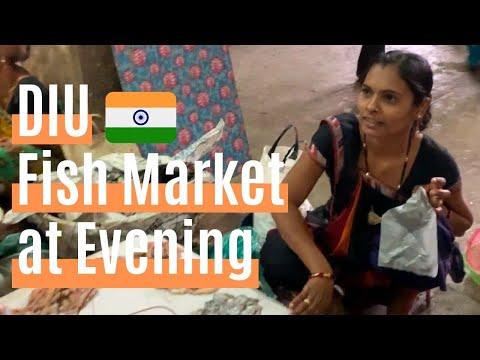 DIU INDIA Mithabava Rd Fishmarket !! Gujarat Beer Bar !!【バックパッカー インド】