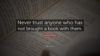 TOP 20 Lemony Snicket Quotes