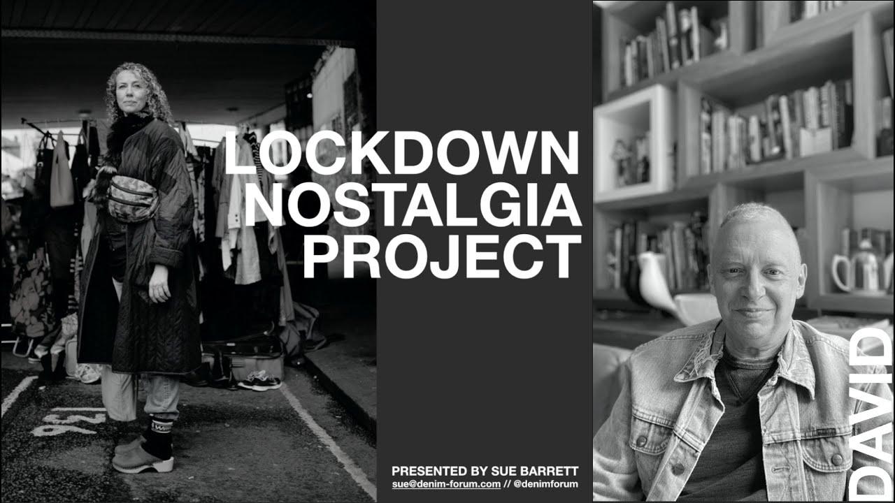 Sue Barrett's Lockdown Nostalgia Project - DAVID TRING