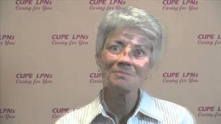 Licensed Practical Nurses talk about delivering patient care: Suzanne