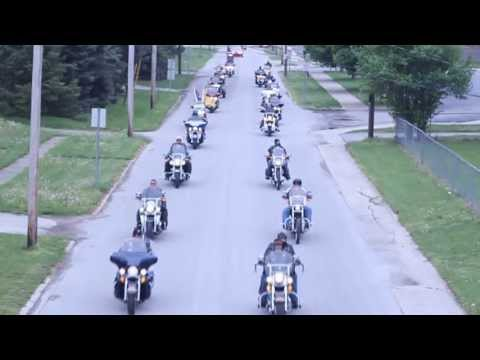 Indiana Patriot Guard Ride in Elwood Indiana