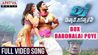 Box Baddhalai Poye Full Video Song HD DJ | Allu Arjun, Pooja Hegde, DSP