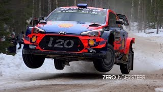 Rally Sweden 2019 | Insane Speed, Action & Jumps